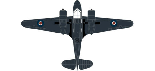 Airspeed PH 185 778 Sqn.Fleet Air Arm 1/72 Oxford
