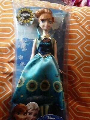 Disney Frozen Spring Fever Anna Birthday Party Anna Doll