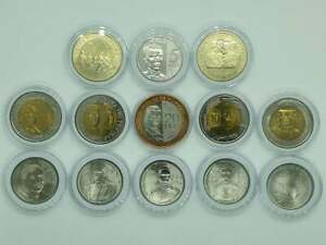 13-pcs-PHILIPPINE-COINS-WITH-COMMEMORATIVE-ISSUES-2011-2019-UNCIRCULATED