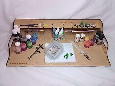 Laserscape Desk Paint Station - Large 54cm MDF Wargaming Tray