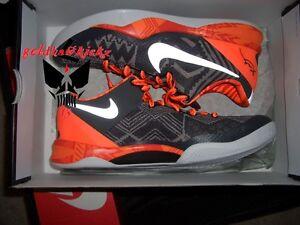e29204b60b Nike Kobe 8 VIII System BHM Black History Month black orange 3m ...