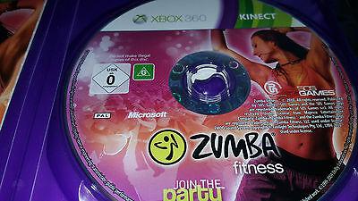 Zumba Fitness (Microsoft Xbox 360, 2010, DVD-Box)