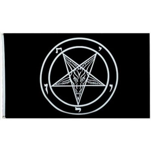 3*5 FT Baphomet Church of Satan FLAG Banner 90x150cm Polyester Decor Flag
