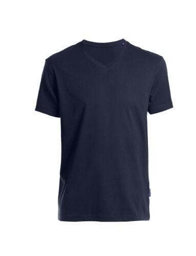 Señores t-shirt V-Neck luxury manga corta Camisa talla s hasta 5xl en 6 colores Gots posterior