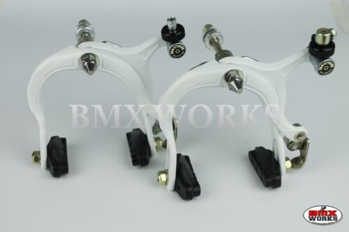 Genuine Dia-Compe MX883 White Brake Calipers Pairs Old School BMX Freestyle