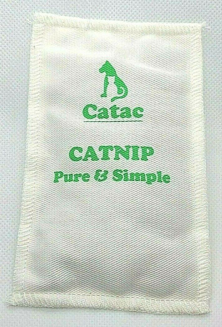 Cat Toy - Organic Catnip by Catac - Pouch 14cm x 9cm