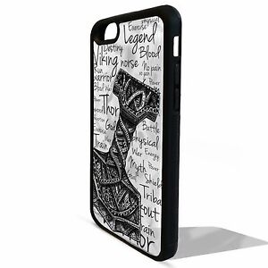 outlet store db5d7 dc230 Details about Viking warrior norse thor odin graphic cover case for Iphone  5 5C SE 6 6S 7 plus