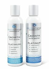 DermaChange Hair Growth Shampoo and Conditioner Set - With Vitamins - To Make...