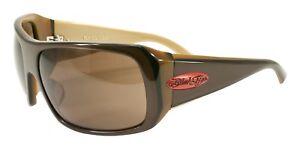 e6b33538e4 NEW Black Flys Sunglasses FLY 4 LIFE SHINY BROWN w  Brown LENS ...