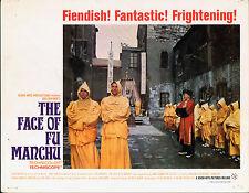 THE FACE OF FU MANCHU ORIGINAL LOBBY CARD HAMMER HORROR NIGEL GREEN