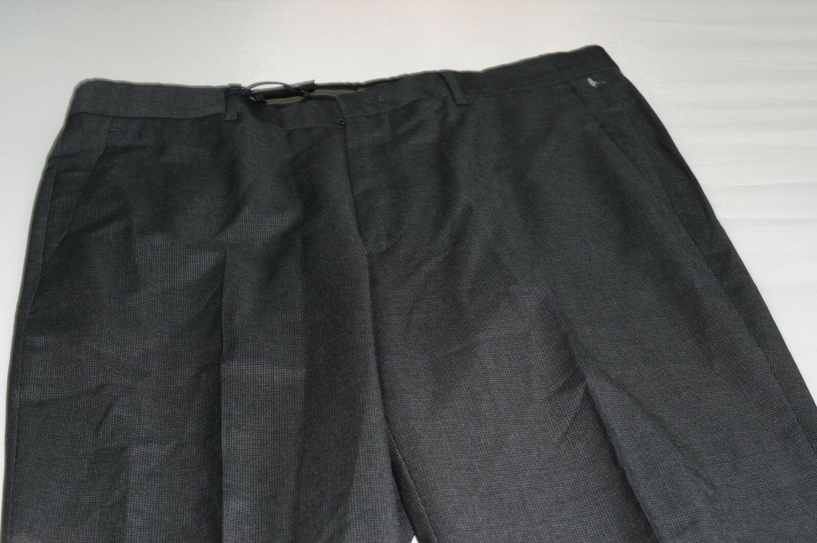 NWOT Z Zegna Men's Flat Front 100% Wool Dress Pants Waist 35 (50R)