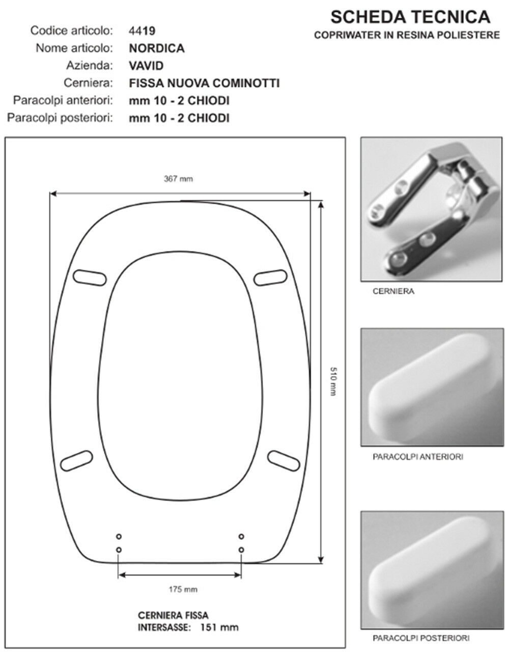 Abattant Wc Siège compatible avec Wc Nordica - - - céramique Vavid | De Gagner Une Grande Admiration  265234