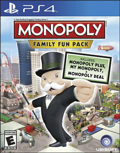 Monopoly-Family-Fun-Pack-PS4-GAME-BRAND-NEW-SEALED
