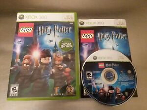 LEGO Harry Potter: Years 1-4 (Microsoft Xbox 360, 2010)- Complete and tested