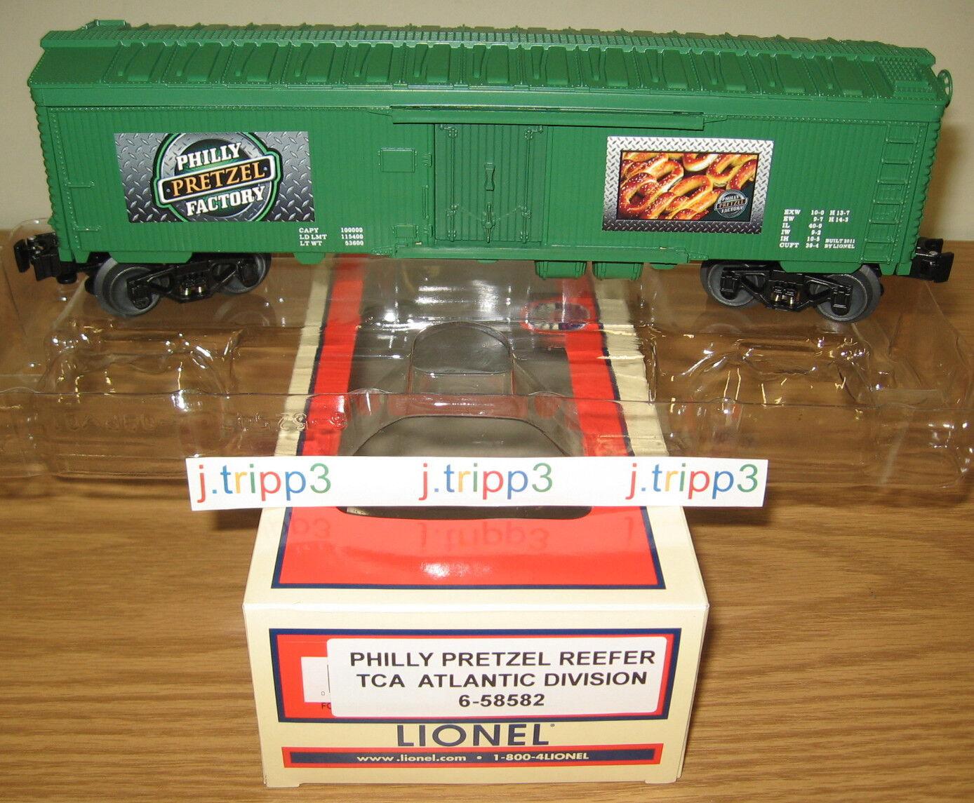 Lionel 6-58582 Filadelfia Pretzel fábrica hierba o calibre Juguete Tren Coche TCA Atlántico