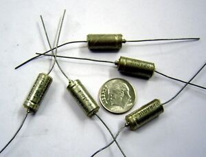 12uF-35v-Lot-of-3-Sealed-Tantalum-Capacitor-Axial-Lead