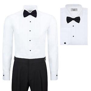 Boltini-Italy-Men-s-Premium-Tuxedo-Wingtip-Collar-Dress-Shirt-with-Bow-Tie