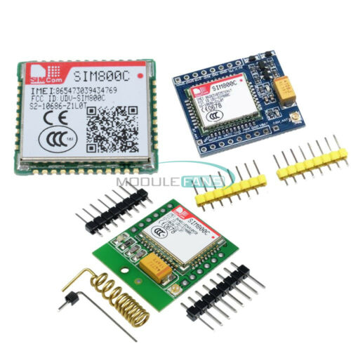SIM800C GSM GPRS Quad-Bande Bluetooth Development Board Antenne STM32 R//SIM800L