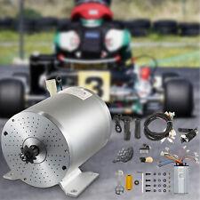 Vevor Electric Brushless Dc Motor Brushless Electric Motor 48v 1800w Controller
