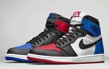 """Nike Men's Air Jordan 1 High OG """"Top 3"""" White/Blue/Red/Black sz 17 [555088-026]"""