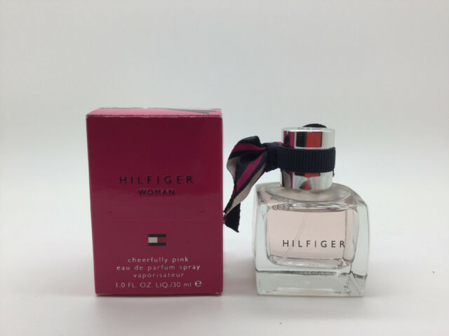 583730b9 TOMMY HILFIGER CHEERFULLY PINK Eau De Parfum Spray for Women 1.0 Ounce, 30  ml