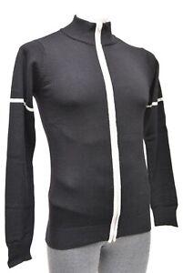 Alchemist Syd Velowool Long Sleeve Wool Cycling Jersey Men 2XL Black Road Bike