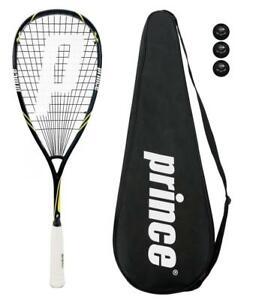 Prince-Pro-Beast-650-Squash-Racket-Cover-3-Squash-Balls-RRP-170
