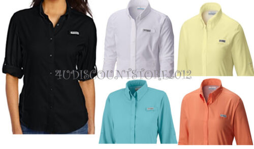 NEW Columbia Women's Tamiami II Long Sleeve Shirt S-M-L-XL XS