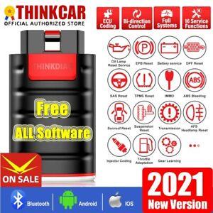 ThinkDiag OBD2-Escáner Bluetooth SRS ABS Bidireccional Ecus Codificación