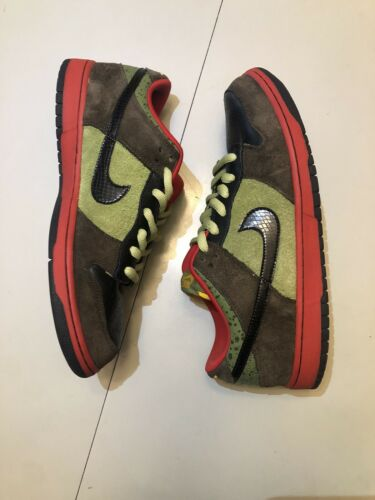 Nike Dunk Low Asparagus Size 12