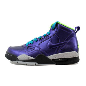 new style 0e5d0 e0b9b Image is loading NIKE-WOMENS-FLIGHT-13-MID-BASKETBALL-SHOES-ELECTRO-