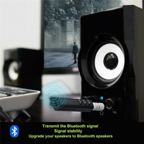 Wireless Bluetooth V4.1 3.5mm AUX Audio Stereo Music Car Receiver Adapter IROSE