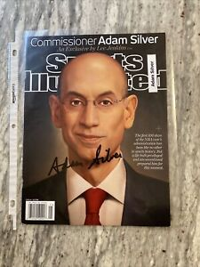 Adam-Silver-NBA-Commissioner-Signed-Auto-May-2014-Sports-Illustrated-Cover
