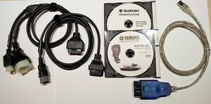 Details about Professional Suzuki and Yamaha Outboard Marine Diagnostic kit