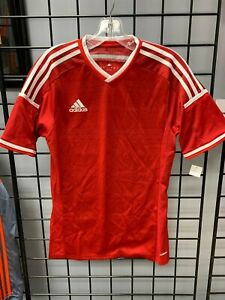 Details about Adidas Condivo 14 Soccer Jersey Red/White