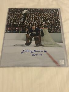 Johnny Bower Toronto Maple Leafs Autographed 8x10 Photo Certfied