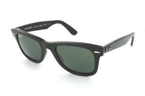 5a4f5339e9 Nuevo Ray-Ban Gafas de Sol Clásico Wayfarer RB 2140 901/58 Negro con ...