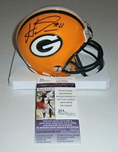 PACKERS-Ha-Ha-Clinton-Dix-signed-mini-helmet-w-21-JSA-COA-Autographed-AUTO