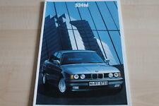 108353) BMW 5er Reihe E34 524td Prospekt 02/1990