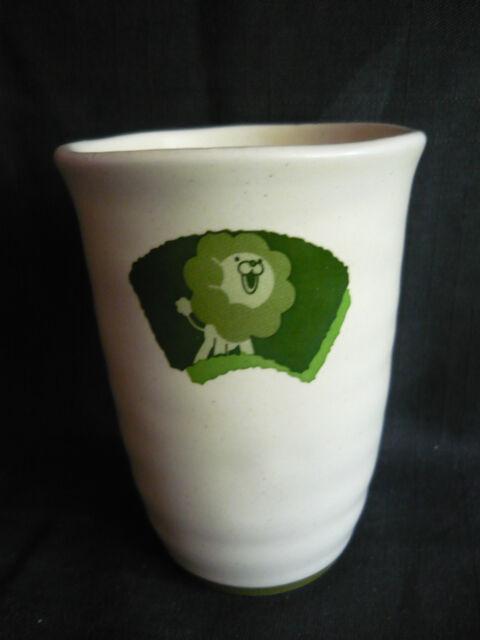 MISTER DONUT MISDO PON DE LION GREEN CUP COFFEE PROMO ITEM NOT FOR SALE !!
