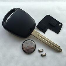 Para Toyota Yaris Avensis Corolla CARINA 2 Botón Remoto Fob caso Completo Kit De Reparación