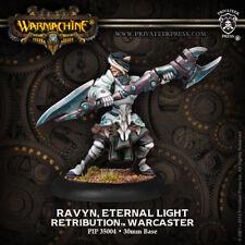 Warmachine: Retribution of Scyrah Ravyn, Eternal Light Warcaster PIP 35004 NEW