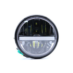 Proiettore-moto-12V-55W-Proiettore-faro-Faro-anteriore-LED-Cafe-Racer-Bobber