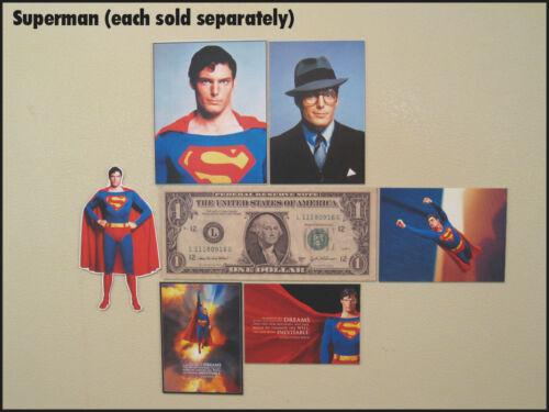 Fridge Fun Refrigerator Magnet SUPERMAN CHRISTOPHER REEVE Movie Photo V F 70s