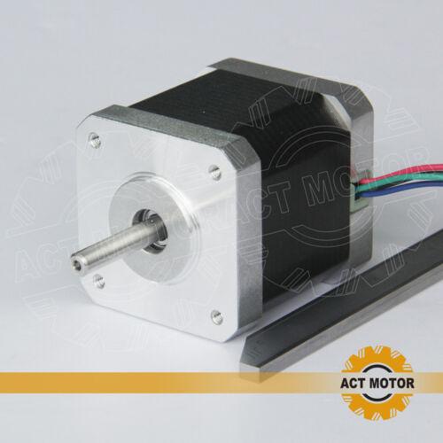 ACT Motor GmbH 3PCS Nema17 Schrittmotor 17HM5417 1.7A 48mm 0,9° 4000g.cm