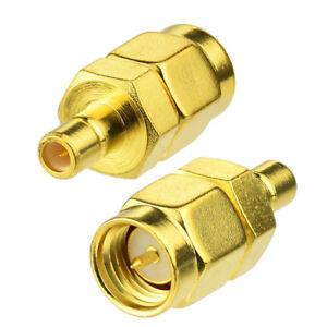2Stueck-SMA-Stecker-auf-SMB-Adapter-Auto-DAB-Digital-Radio-USB-Empfaenger-Adapter