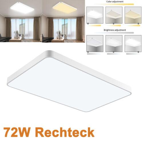 18W 20W 36W 48W 72W LED Deckenleuchte Küchenlampe Dimmbar Aufbau Panel Flur DHL