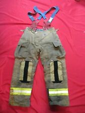 Mfg 2012 Morning Pride 34 X 31 Fire Fighter Turnout Pants Bunker Gear Suspenders