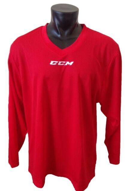 CCM Hockey Senior adult Red 5000 Practice Jersey 2xl  2e0052e5639