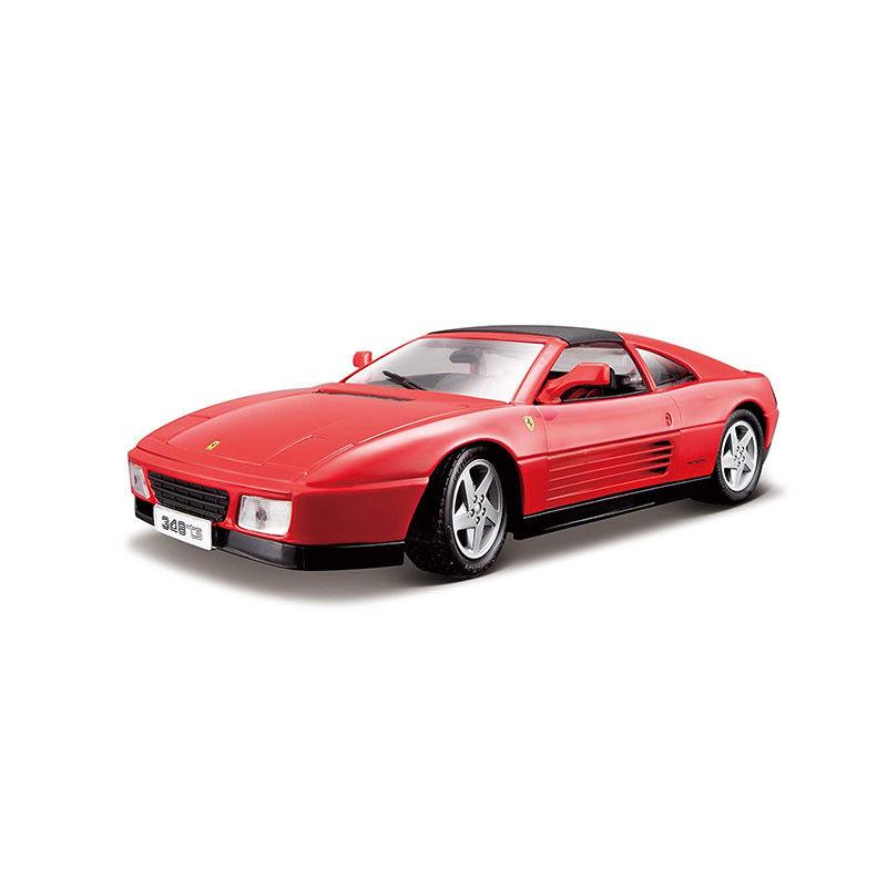 Bburago 16006 Ferrari 348ts Red Scale 1 18 Model Car New  °